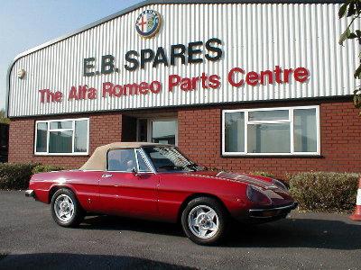 Alfa Romeo Spider Parts And Spares - Parts for alfa romeo spider